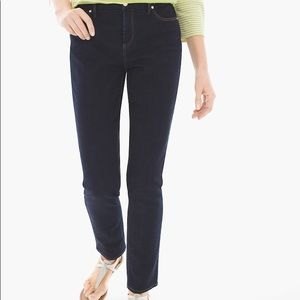 So Slimming Girlfriend Leg Jeans by Chico's Size 6